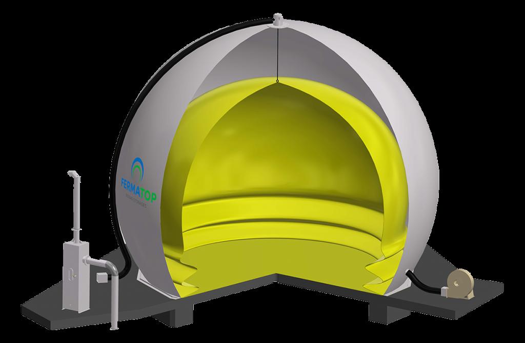 Standardspeicher-Doppelmembran-Gasspeicher