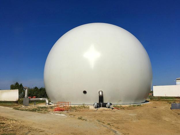 Standardgasspeicher 3500m³,