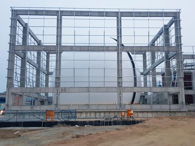 Standardgasspeicher 2500m³,
