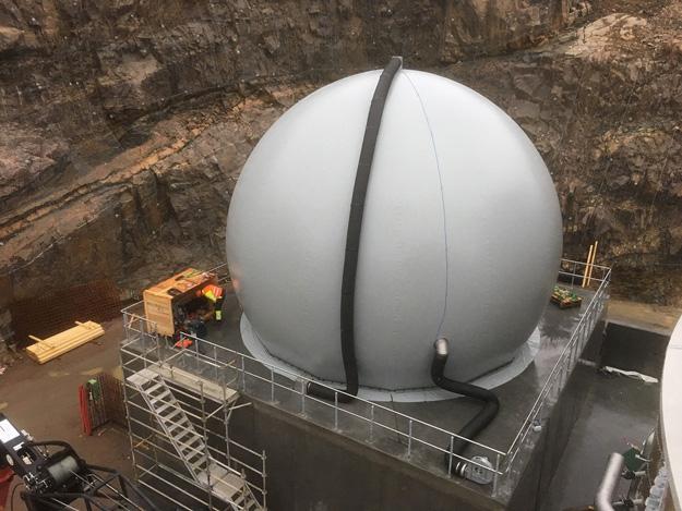 Standardgasspeicher 500m³,