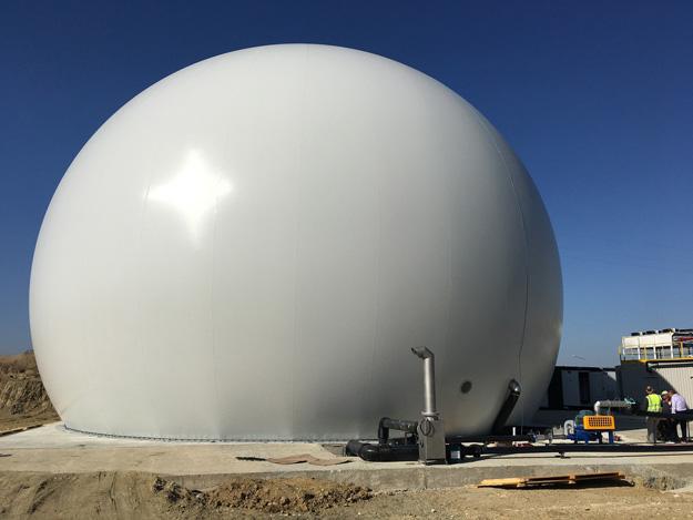 Standardgasspeicher 5000m³,
